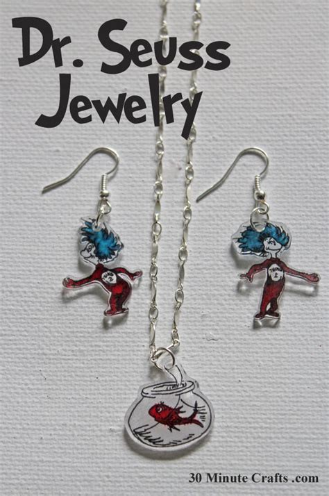 cat in the hat dr seuss jewelry 30 minute crafts