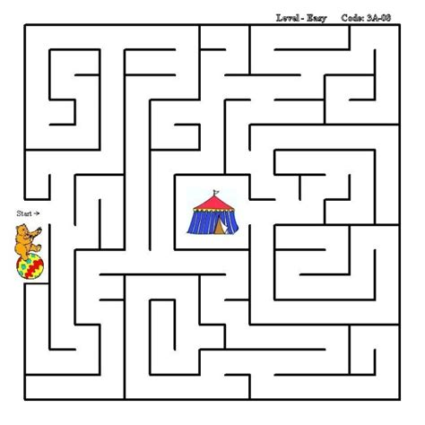 printable educational mazes image gallery maze activity