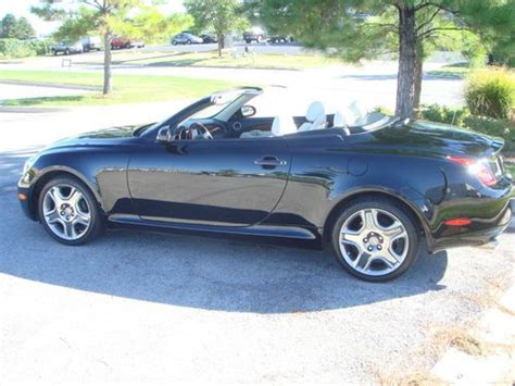 lexus convertible 4 door find used 2008 lexus sc430 base convertible 2 door 4 3l in
