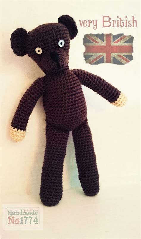 Boneka Mr Bean By Decent Crochet kuscheltier teddy b 228 r mr bean mr beans teddy