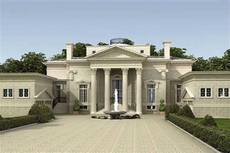 3 bedrm 5730 sq ft colonial house plan 106 1154