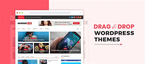 wordpress theme editor drag and drop 5 drag and drop wordpress themes 2018 formget