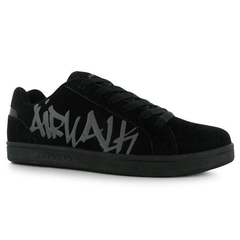 airwalk shoes for airwalk neptune skate shoes mens black casual trainers