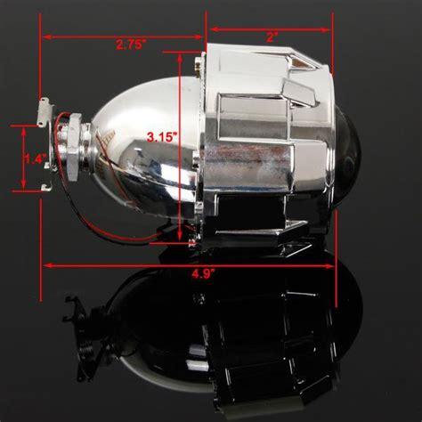 Projector Hid Bi Xenon M806 2 Inch 2 5 inch motor bi xenon hid projector angle eye halo lens headlight alex nld