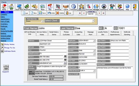 hairstyles inventory software client management for salon software salon management