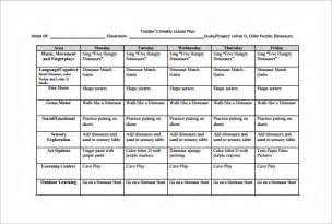 plan of the week template weekly lesson plan template 10 free sle exle