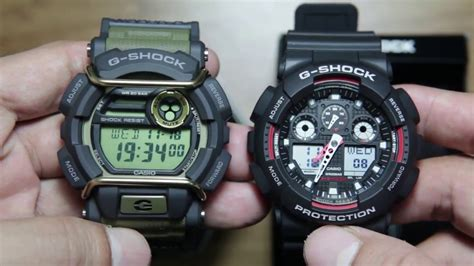G Shock Ga100 9 casio g shock gd 400 9 vs casio g shock ga 100 1a4