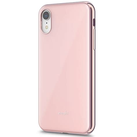 moshi iglaze cover for iphone xr pink shop and ship south africa