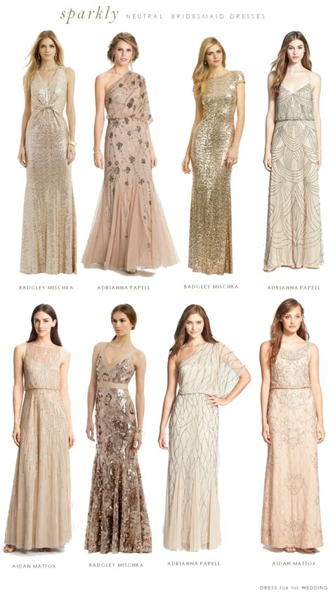 beaded bridesmaids dresses mismatched neutral bridesmaid dresses