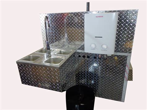 food cart with sink mobile dog cart trailer food vending concession stand