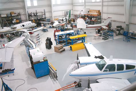 aircraft maintenance hangar business spotlight flight repairs rags to
