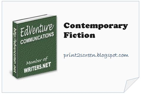 contemporary fiction journalism n writing contemporary fiction genres and beyond