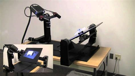 structured light 3d scanner automated inspection using structured light scanning youtube