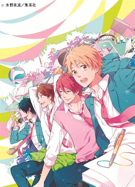 nijiiro days crunchyroll drama cd cast to reprise their roles in