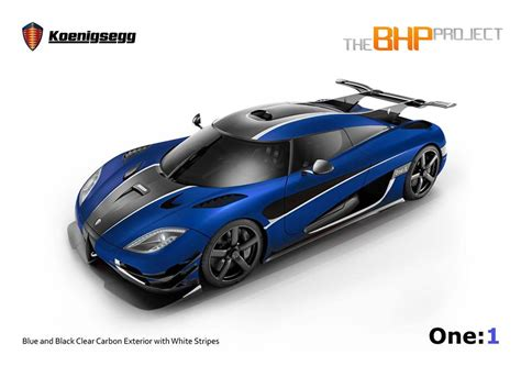 koenigsegg blue koenigsegg one 1 in blue carbon right drive 95 octane