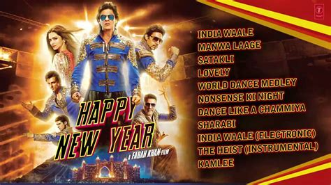 happy new year full audio songs jukebox shah rukh khan