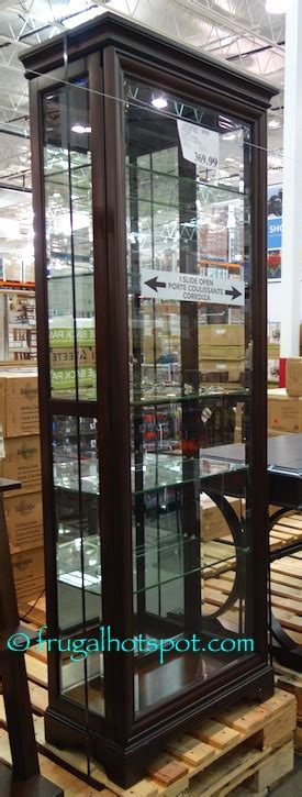 pulaski curio costco costco pulaski sliding door display 369 99