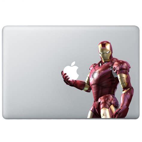 Macbook Aufkleber Ironman by Iron 3 Colour Macbook Decal Kongdecals Macbook Decals