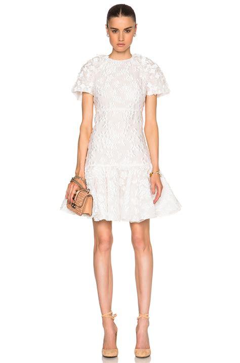 Brocade Dress Wd T1310 1 giambattista valli floating flowers jacquard drop waist dress ivory modesens