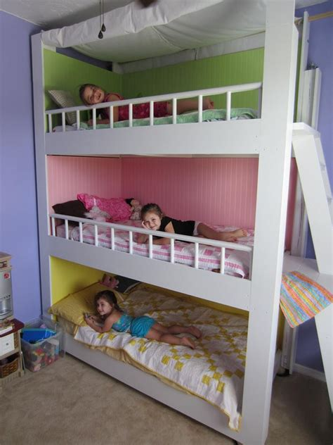 diy bunk bed diy bunk beds tutorials and plans