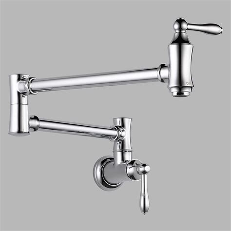Pot Filler Faucet Delta 1177lf Wall Mount Pot Filler Faucet Pot Fillers At