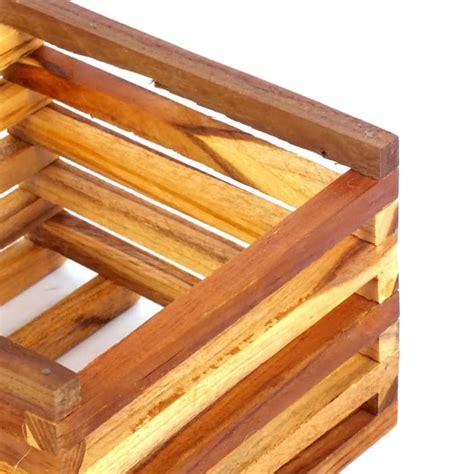 Pot Kayu Untuk Anggrek pot kayu kotak duduk pot anggrek bunga tanaman kayu pinus