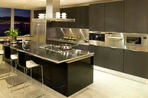 modern kitchen countertops 15 kitchens with stainless steel countertops