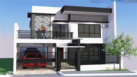 Small Two Story House Floor Plans House Design Open Plan Living Modern Bungalow House