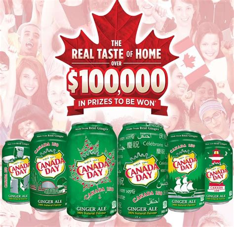 Contests And Giveaways 2017 - canada dry real taste of home 2017 contest enter your pin and win prizes