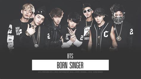bts born singer lyrics th karaoke bts born singer 2013 youtube
