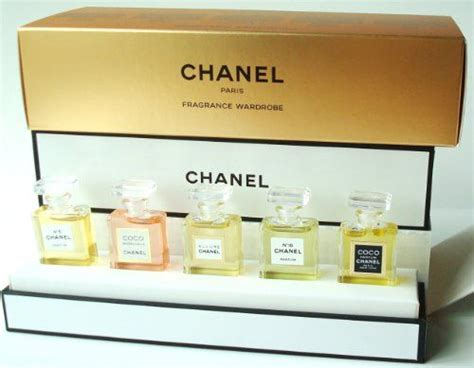 Jual Parfum Mini Set chanel fragrance wardrobe miniature gift set of 5 five parfum chanel no 5 coco mademoiselle