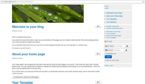 Joomla 3 Template Vorlage 208 Building A Basic Joomla 3 Template With Bootstrap Inmotion Hosting