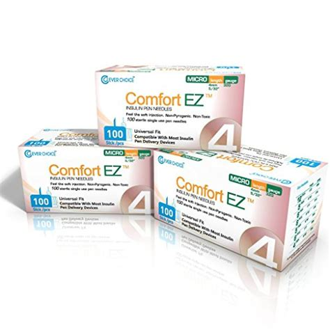 comfort ez pen needles clever choice comfort ez pen needles 32g 4mm 5 32 3