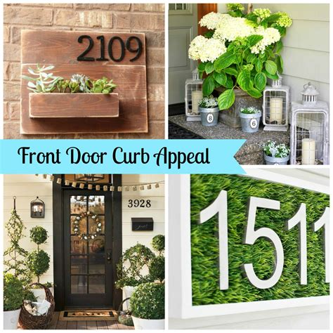 Front Door Curb Appeal Front Door Curb Appeal A Beautiful Inspiration