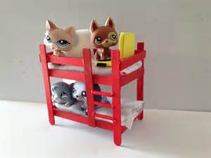 how to make a lps bunk bed lps accessories