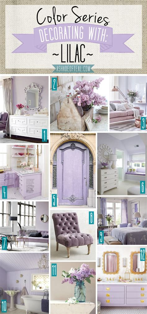 how to decorate series finding your decorating style color series decorating with lilac