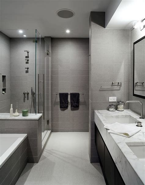 Modern Grey Bathroom How To Use Gray Around The House Without It Look Boring
