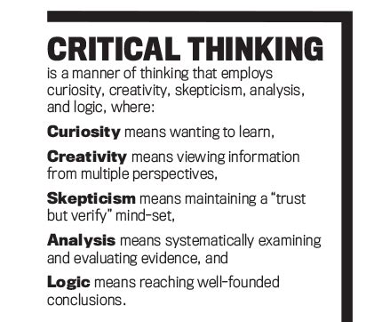 Critical Essay Definition by Critical Thinking Business Definition