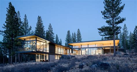 beside lake modern wooden house design olpos design john maniscalco completes a new home surrounded by nature