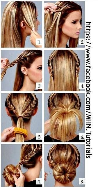 cutewaitress hairstyles best 25 donut bun hairstyles ideas on pinterest hair