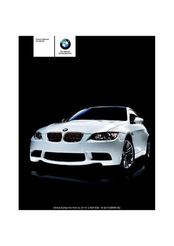 car owners manuals free downloads 2011 bmw 1 series electronic toll collection download 2011 bmw m3 owner s manual pdf 278 pages