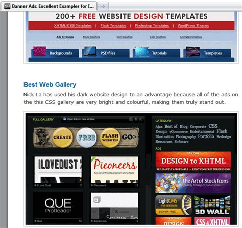 12 Ways To Create Compeling Graphic Banner Ads For Your Website Website Advertisement Template