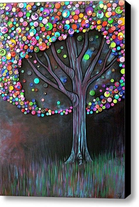 diy crafts for home decor button tree crafts archives all gifts considered