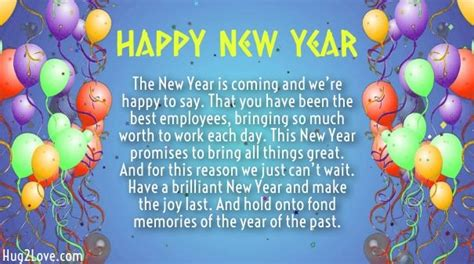 year wishes  employees  happy  year quotes