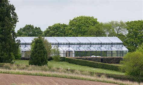 pippa middleton has wedding marquee installed at family