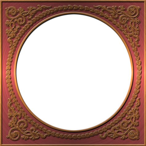 Style Of Home presentation photo frames round style 37