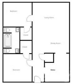 2 bedroom 2 bathroom house plans simple 2 bedroom house plans google search house plans