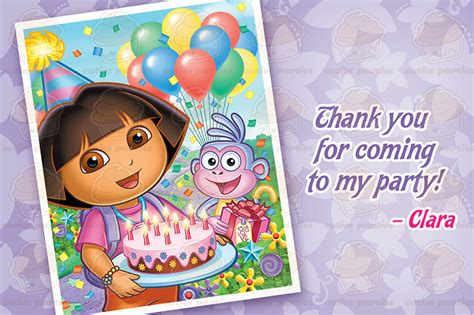 free printable dora party decorations dora and boots printable birthday party kitcuties parties