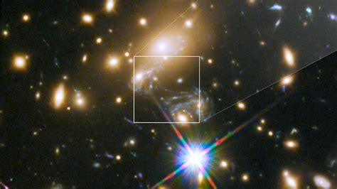 NASA's Hubble Space Telescope uncovers 'Icarus', the farthest star ever seen   Space News
