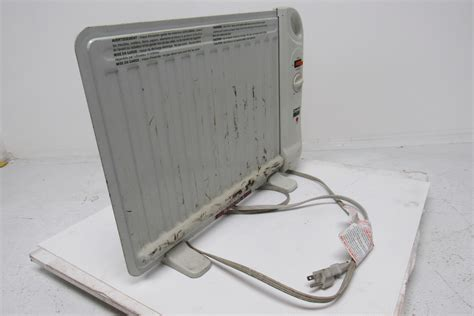 Space Heater For Desk by Dayton 1vnx3 Filled Space Heater 400watt 120volt Flat